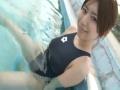 アダルト動画:Darkblue Swimwear5